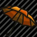 protection, rain, security, umbrella icon