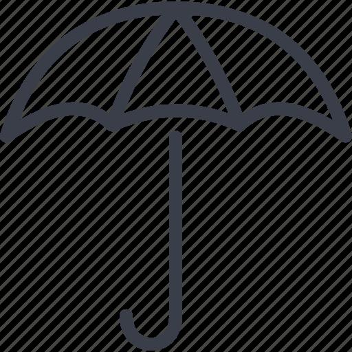 autumn, parasol, protection, rain, umbrella, weather icon