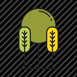 autumn, autumn tree, forest, nature, plant, spring, tree icon
