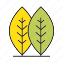 autumn, autumn tree, forest, leaf, nature, plant, tree icon