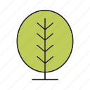 blossom, bush, flora, forest, nature, plant, tree icon