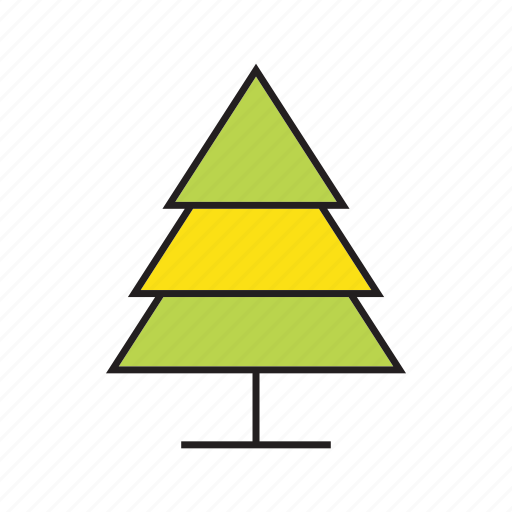 christmas tree, flora, forest, nature, pine, plant, tree icon