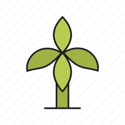 banana tree, forest, leaf, nature, palm, plant, tree icon