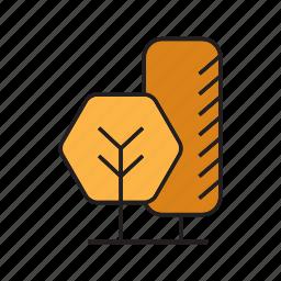 autumn, autumn tree, bush, forest, nature, plant, tree icon