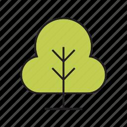 bush, forest, nature, plant, tree icon
