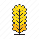 autumn tree, blossom, forest, leaf, nature, plant, tree icon