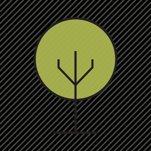 blossom, bush, forest, nature, plant, tree icon