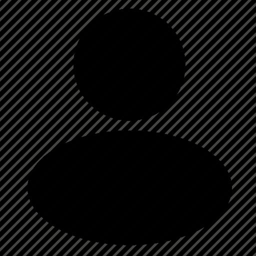 account, avatar, head, man, person, user, user profile icon