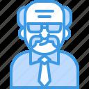 avatar, bald, boss, chief, man