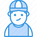 avatar, boy, character, hat, male, man, people