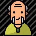 avatar, man, oldman, pensioner, people