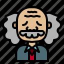 scientist, einstein, doctor, granfather, avatar