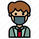 doctor, covid, mask, man, avatar