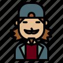 rock, artist, vocalist, man, avatar
