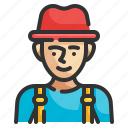 hat, person, young, boy, avatar