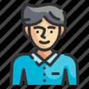man, male, person, user, profile