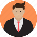 avatar, banker, office, people, person, team, worker icon