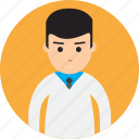 avatar, doctor, man, medical, people, professional, uniform icon