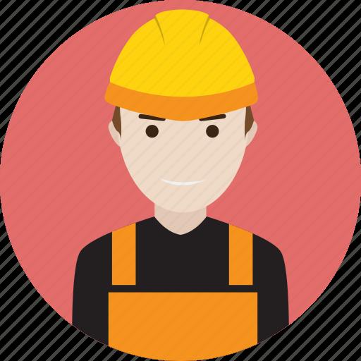 avatar, engine, engineering, mechanics, motor, people icon