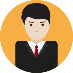 avatar, business, concept, management, marketing, work icon