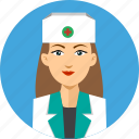 assistance, avatar, hospital, nurse, people, profession, professional icon