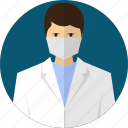 avatar, doctor, medical, people, professional, surgeon, uniform icon