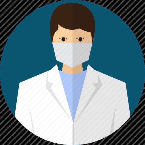 avatar, doctor, medical, people, professional, surgeon, uniform icon