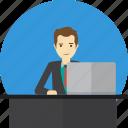 avatar, business, concept, people, planner, website, website planner