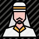 arab, avatar, male, man, people, user