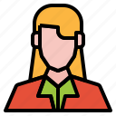 avatar, business, girl, people, user, woman
