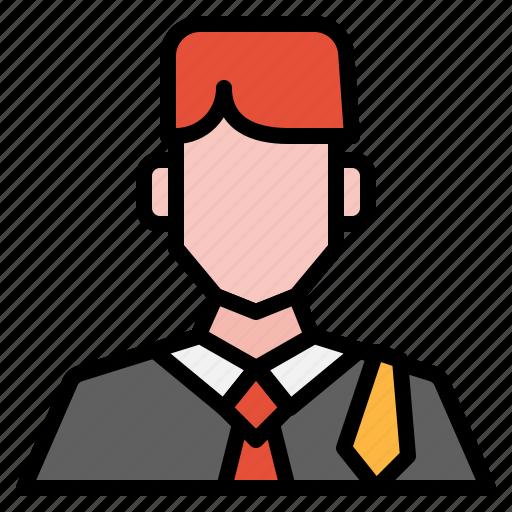 avatar, boy, guy, lawyer, man, people, user icon