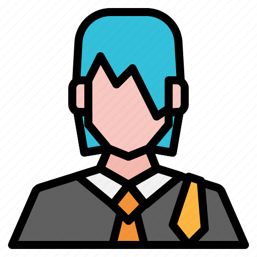 avatar, girl, lawyer, people, user, woman icon