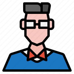 avatar, boy, male, man, nerds, people icon