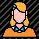 avatar, girl, nerds, people, user, woman