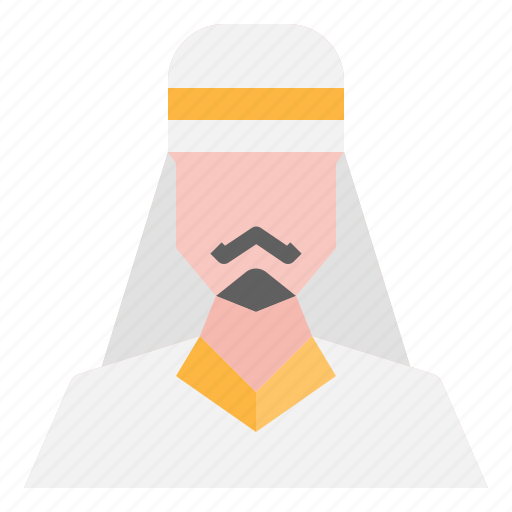 arab, avatar, male, man, people, user icon