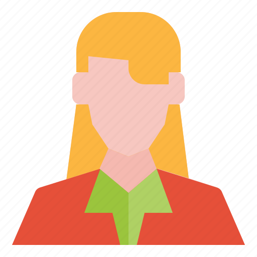 avatar, business, girl, people, user, woman icon