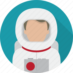 astronaut, avatar, space, space man, space suit icon