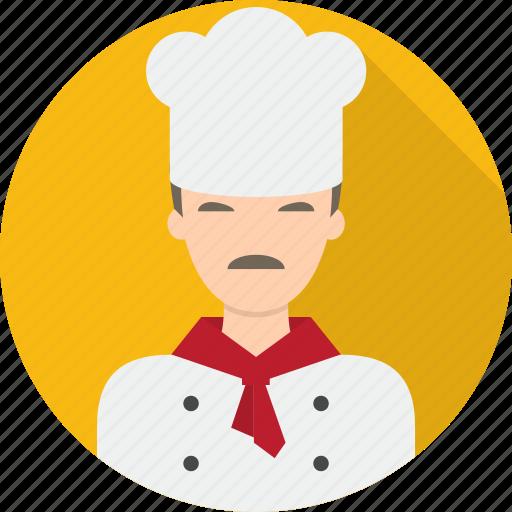 avatar, beverage, chef, food, kitchen icon