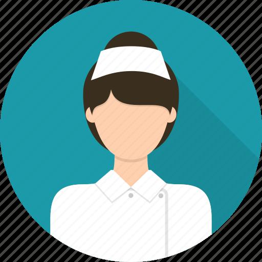 assistant, avatar, female, medic, medical, nurse icon