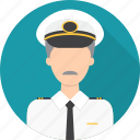 avatar, captain, hat, ship icon