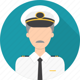 avatar, captain, hat, ship icon
