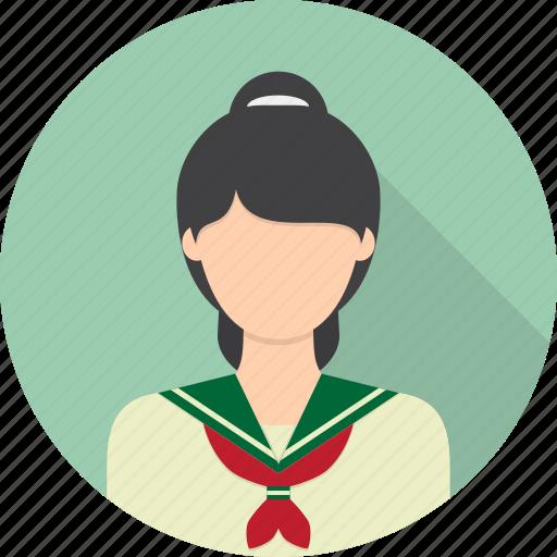 avatar, education, japanese, learning, student icon