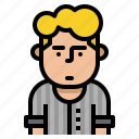 avatar, boy, man, profile, user icon