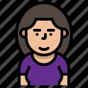 avatar, girl, profile, user, women icon
