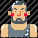bodybuilder, fitness, male, sportsman