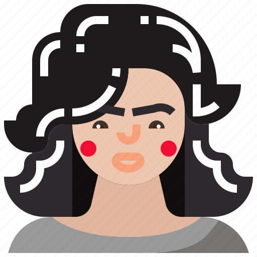 female, girl, ladies, lady icon