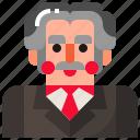 male, man, professor, teacher icon