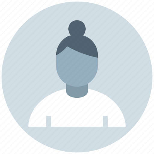 advisor, avatar, business, people, profile, senior, woman icon