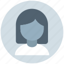 avatar, blonde, girl, lady, office girl, person, user icon