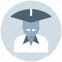 avatar, conical, asian, hat, man, costume, traditional icon